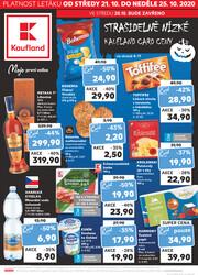 Leták Kaufland 21.10. - 25.10. - Kaufland - Ostrava - Zábřeh