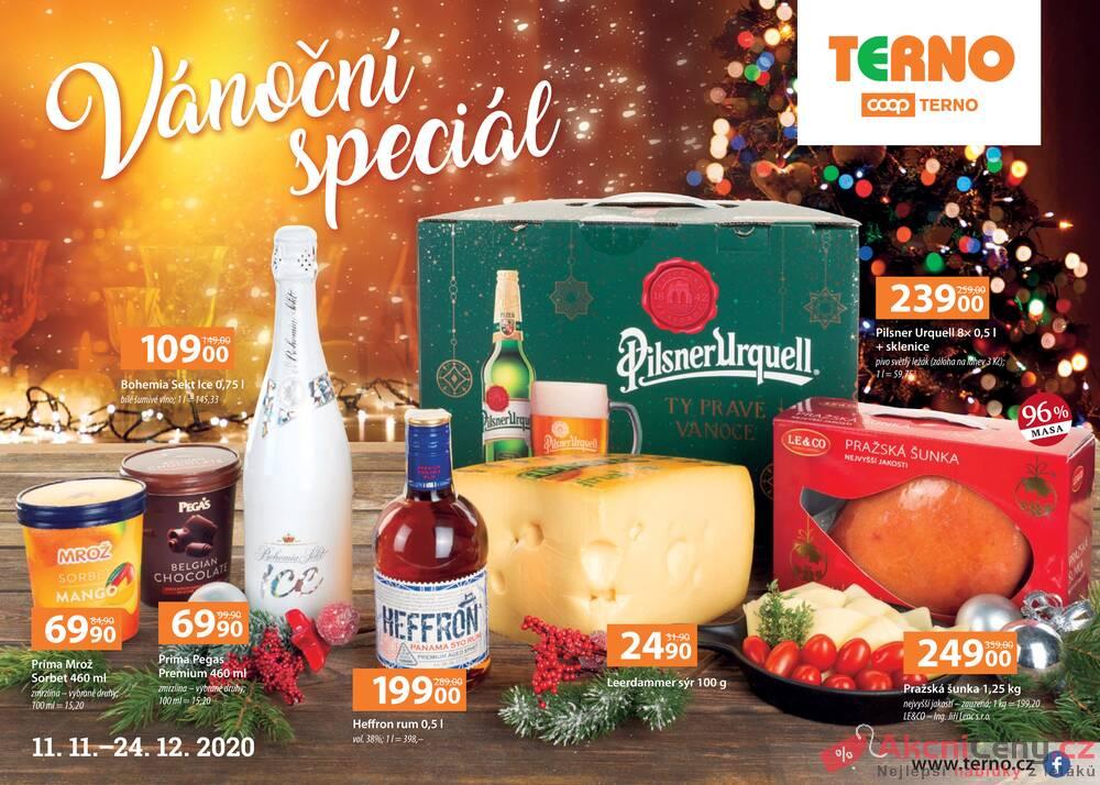 Leták Terno - Terno Vánoční speciál od 11.11. do 24.12.2020 - strana 1