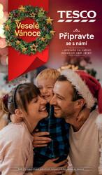 Leták Tesco Vánoční tipy 5.11. - 24.12.