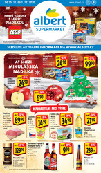 Leták Albert Supermarket CITY od 25.11. do 1.12.2020