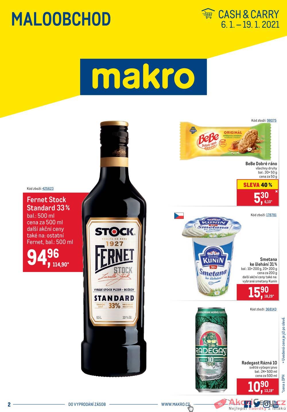 Leták MAKRO - MAKRO Maloobchod od 6.1. do 19.1.2021 - strana 1