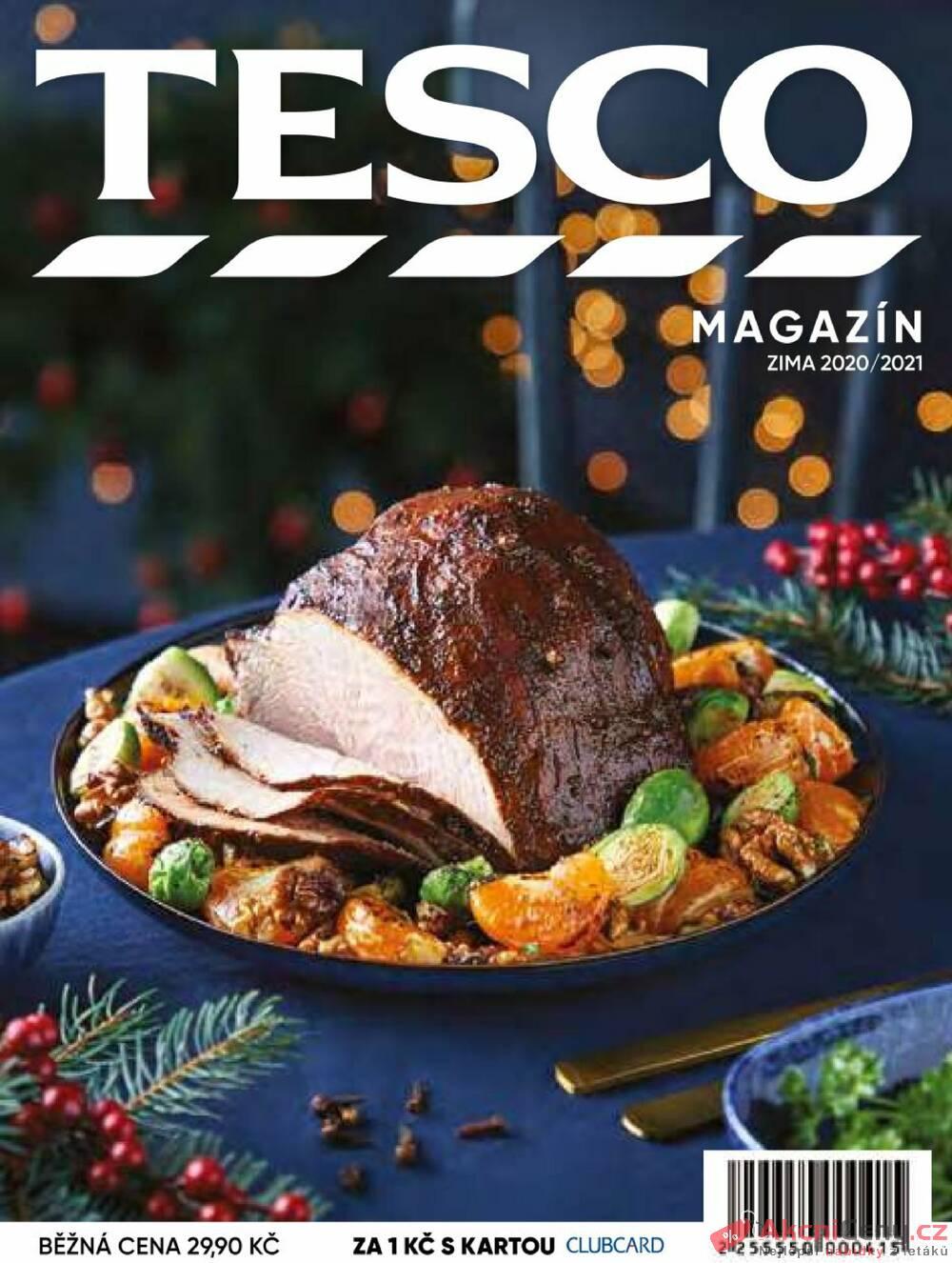 Tesco magazín Zima 2020