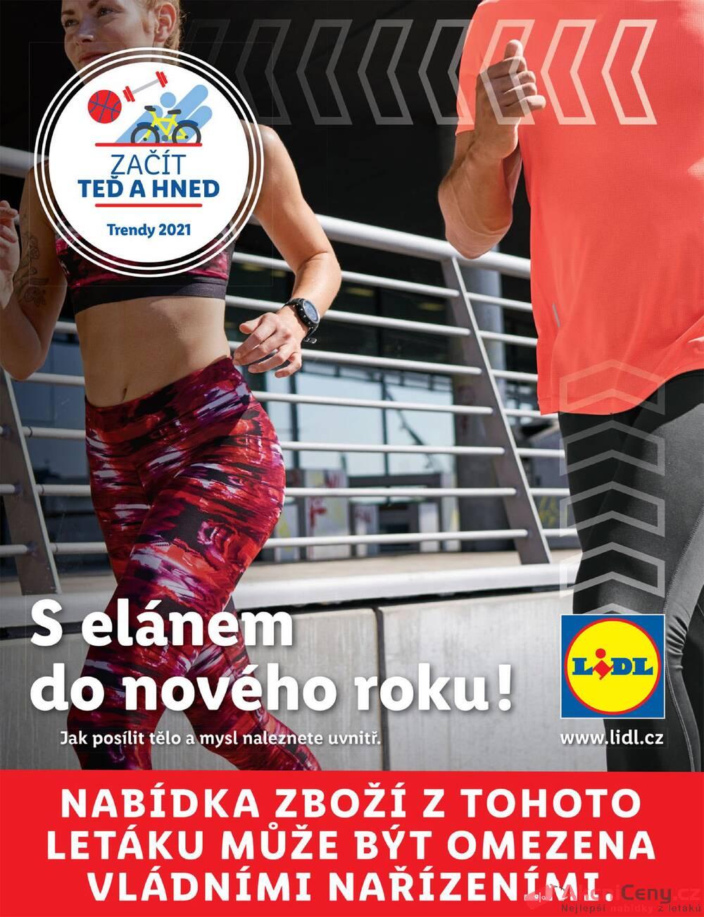 Lidl Fitness brožura do 28.3.