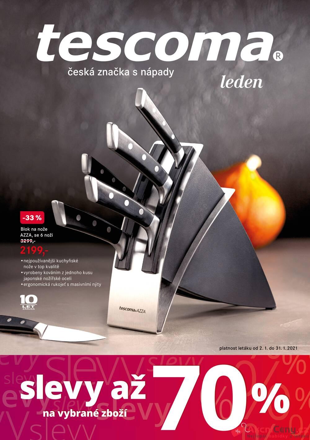 Leták Tescoma - Tescoma katalog od 2.1. do 31.1.2021 - strana 1