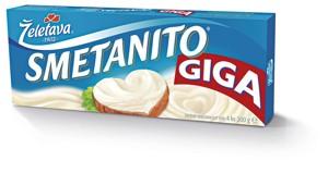 Smetanito Giga tavený sýr
