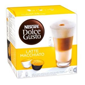 kávové kapsle Nescafé Dolce Gusto 16ks, různé druhy