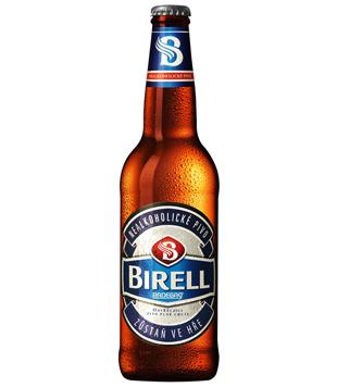 Radegast Birell světlý, nealkoholické pivo