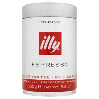 Zrnková/mletá káva Illy, vybrané druhy