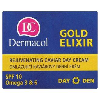Dermacol Gold elixir omlazující kaviárový denní, noční krém ROSSMANN