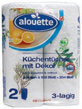 Kuchyňské papírové utěrky Alouette ROSSMANN