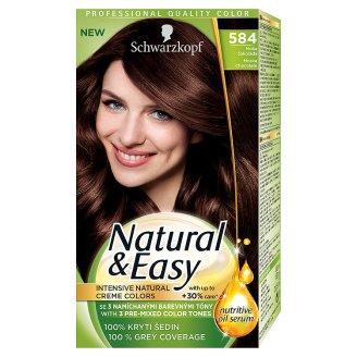 Schwarzkopf Natural & Easy barva na vlasy, vybrané druhy Tesco