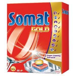 Somat tablety do myčky 72ks, vybrané druhy TOP drogerie