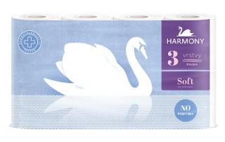 Harmony Toaletní papír 3-vrstvý, vybrané druhy Barvy a laky drogerie