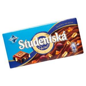 Orion Studentská pečeť čokoláda 180g, vybrané druhy