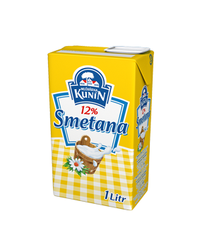 Kunín Smetana na vaření 12 % v akci