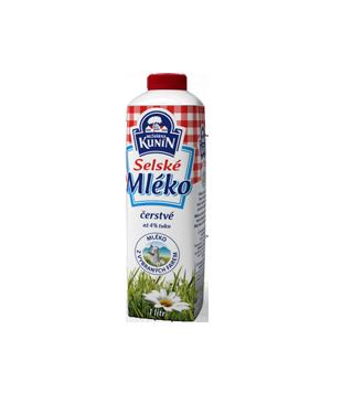 Kunín Selské mléko čerstvé