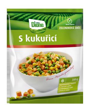 Dione mražená zeleninová směs s kukuřicí 350g