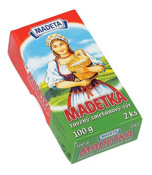 smetanový tavený sýr Madetka 45%