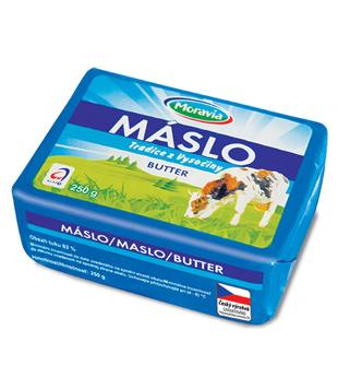 máslo Tradice z Vysočiny 82% v akci