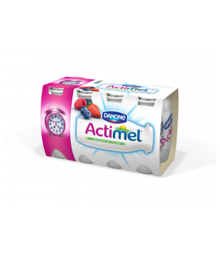 Actimel nápoj (8 kusů), různé druhy v akci