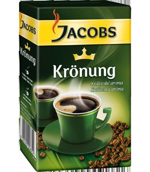 Jacobs Krönung mletá káva 500g, vybrané druhy