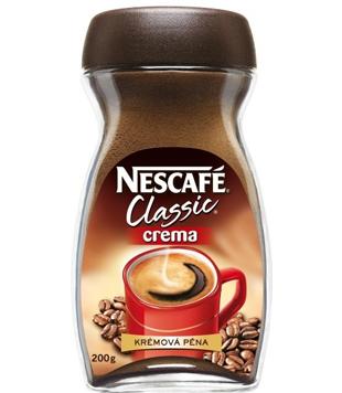 instantní káva Nescafé Classic Crema v akci