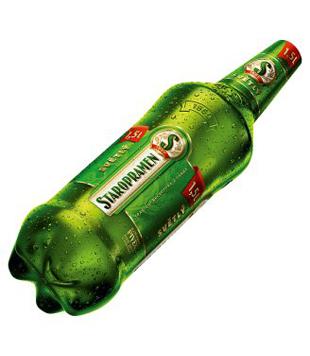 Staropramen Světlý, výčepní pivo (PET) 1,5l