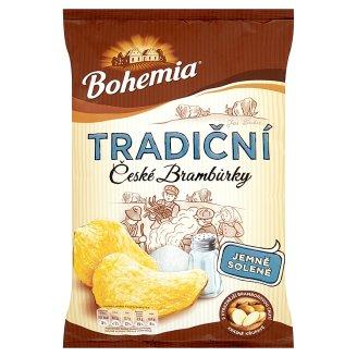 Bohemia Tradiční České brambůrky 140g, různé druhy