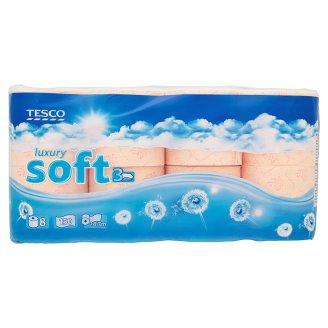 Tesco toaletní papír 3-vrstvý, vybrané druhy Tesco