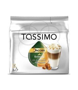 Jacobs Tassimo kávové kapsle 8 kapslí, různé druhy