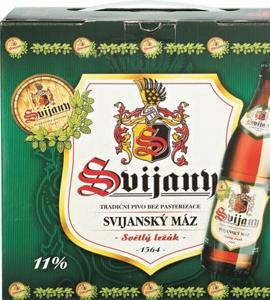 Svijany Svijanský Máz, světlý ležák, multipack (8 kusů)