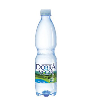 Dobrá voda neochucená 0,5l, různé druhy