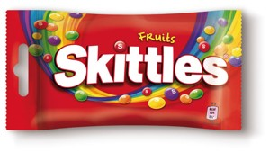 Skittles, vybrané druhy