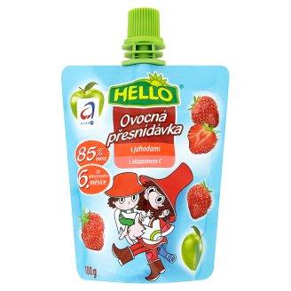 Hello dětská ovocná přesnídávka s vitaminem C 100g, vybrané druhy COOP