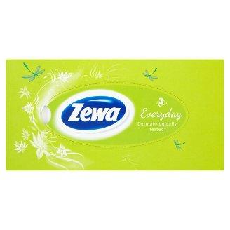 Zewa papírové kapesníčky 2-vrstvé, 100ks box Billa