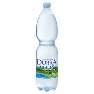 Dobrá voda přírodní minerální voda, vybrané druhy