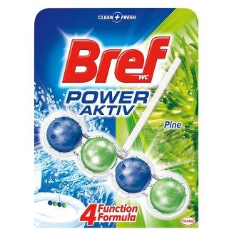 Bref Power Aktiv WC blok 50ml, vybrané druhy Ráj drogerie