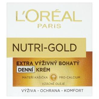 L'Oréal Paris Nutri-Gold pleťový krém, vybrané druhy TOP drogerie