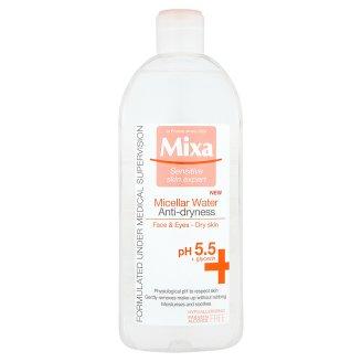 Mixa micelární voda, vybrané druhy Teta drogerie