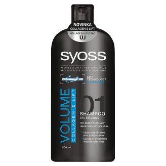 Syoss šampon na vlasy, vybrané druhy Tesco