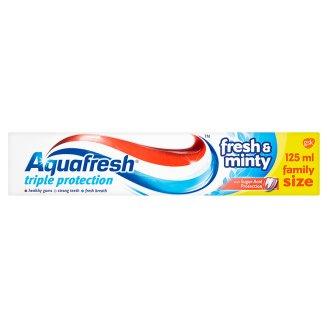 Aquafresh zubní pasta, vybrané druhy Tesco