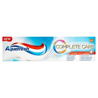Aquafresh zubní pasta, vybrané druhy Teta drogerie