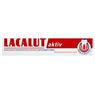 Lacalut Aktiv zubní pasta proti paradontóze Albert