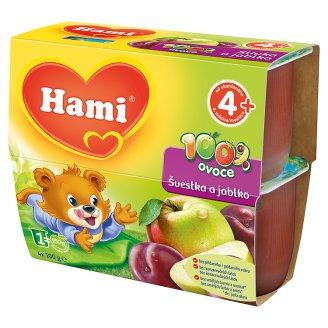 Hami 100% ovoce 4x100g, vybrané druhy Ratio