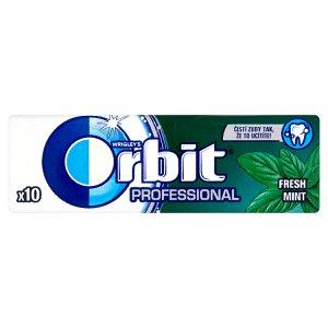Wrigley's Orbit Professional žvýkačka 14g, vybrané druhy