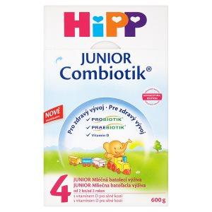 HiPP 4 JUNIOR combiotik mléčná batolecí výživa od 2 let 600g ROSSMANN
