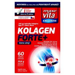 MaxiVita Kolagen Forte+ 60 kapslí 20,6g dm drogerie markt