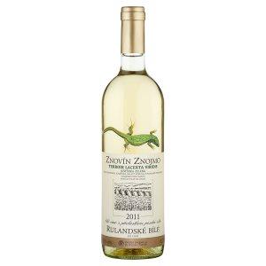 Znovín Znojmo Terroir Lacerta Viridis Rulandské bílé 2011 pozdní sběr suché víno s přívlastkem 0,75l