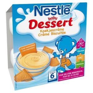 NESTLÉ BABY Dessert Sušenka 4 x 100g ROSSMANN