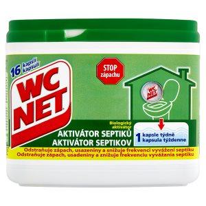 WC Net Biologický aktivátor septiků 16 kapslí 288g TOP drogerie